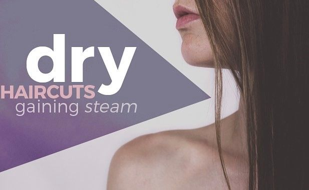 New on the blog! A look at the benefits of dry haircuts. Click the link in our bio