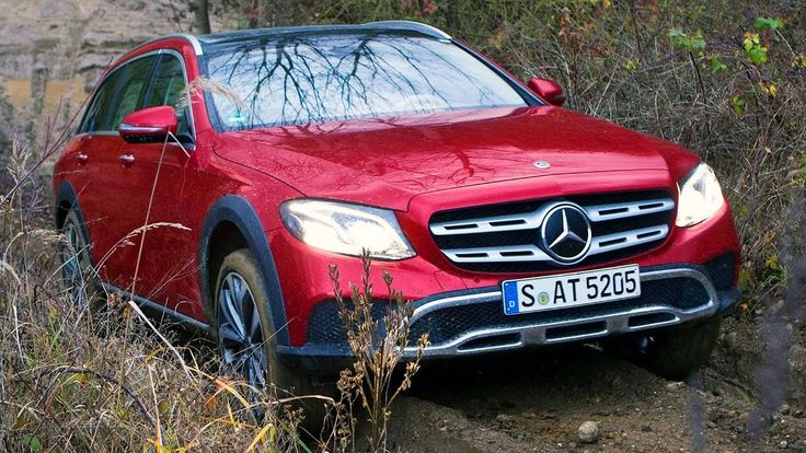 Mercedes-Benz E 220 d Todo-Terreno em estrada e fora da estrada #classal...