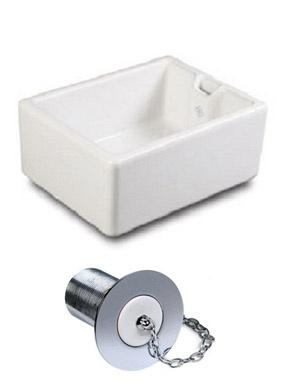 Pendle Single Fireclay Sink