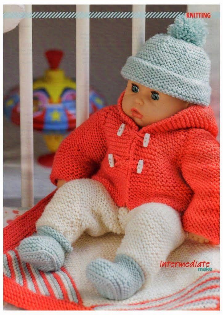 Woman's Weekly Knitting & Crochet - Baby Doll Set