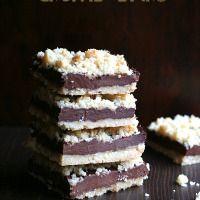 Chocolate Fudge Crumb Bars