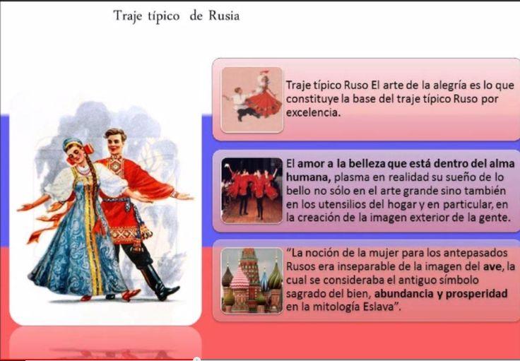 Traje tipico de Rusia