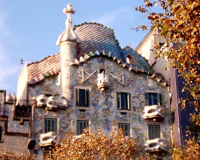 Casa Batlo - Gaudi Building Barcelona - e-architect