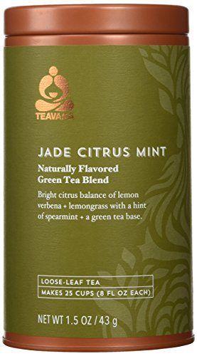 Starbucks Teavana Jade Citrus Mint Loose-Leaf Green Tea - http://teacoffeestore.com/starbucks-teavana-jade-citrus-mint-loose-leaf-green-tea/