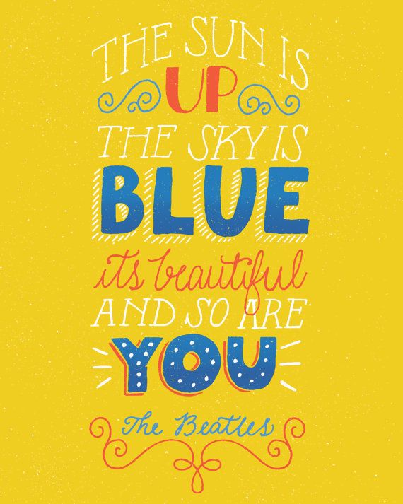 Dear Prudence Art Print by KathieSoza on Etsy, $15.00 The Beatles