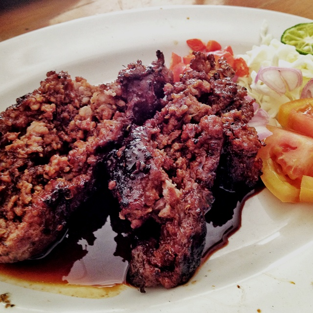Sate Buntel from Solo Indonesia