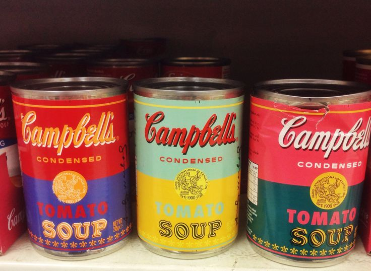 Today in Tesco in Dublin! Andy Warhol