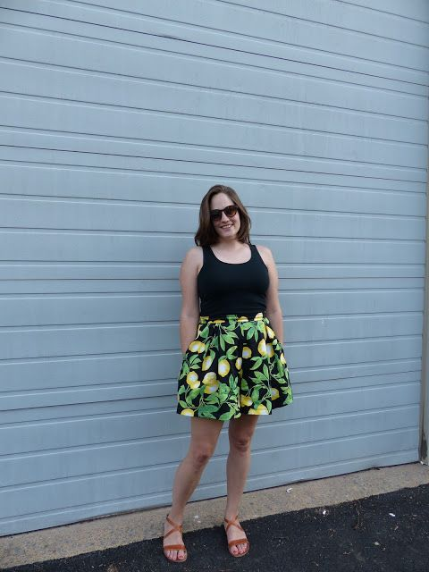 Sewin' Steady -- Winslow Culottes