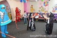 Детский день рождения в стиле LEGO NINJAGO. Лего Ниндзяго в Киеве – фото 22