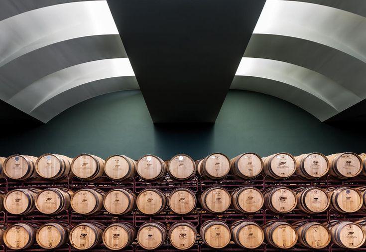 "São Miguel Wines - Casa Agrícola Alexandre Relvas - #Winery wine store. Photo by Jerónimo Heitor Coelho at ""Adegas do #Alentejo"" book."