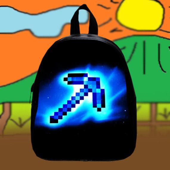 New Minecraft Errow Sword  Custom SchoolBags by KopiHitam55