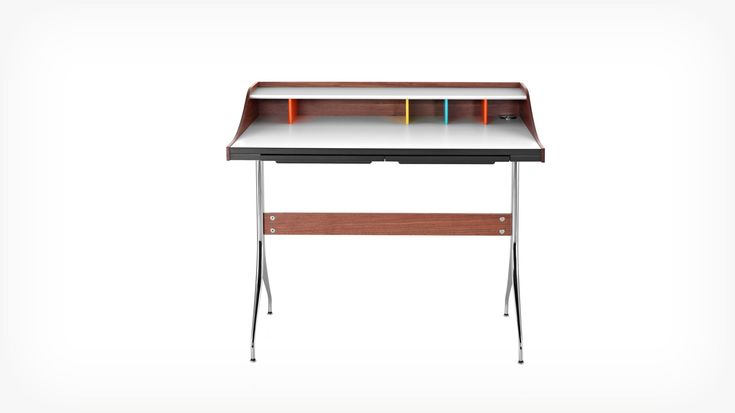 Nelson™ Swag Leg Desk | EQ3 Modern Furniture