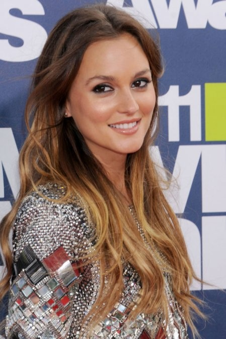 tie and dye - Leighton Meester