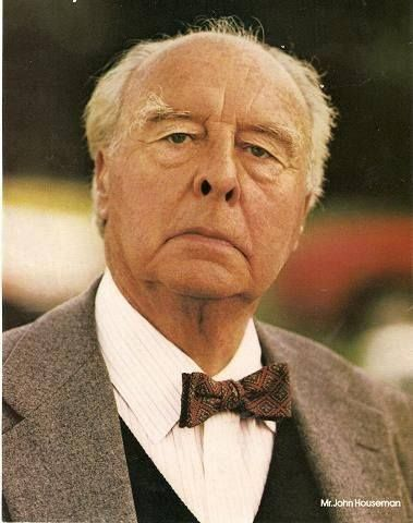 JOHN HOUSEMAN (1908-1988) played in Three Days of the Condor, The Fog,  The Paper Chase, Rollerball,  Mork & Mindy