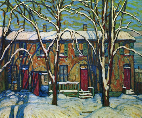 A Side Street c.1919  Lawren Harris