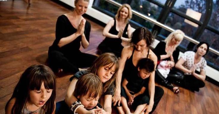 Parent & Child Yoga @ Tiaki