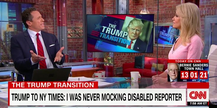 Chris Cuomo and Kellyanne Conway engaged in a heated debate over Trump's mockery of a New York Times reporter with a disability.  Her logic and defense of this horrific display are contemptible.