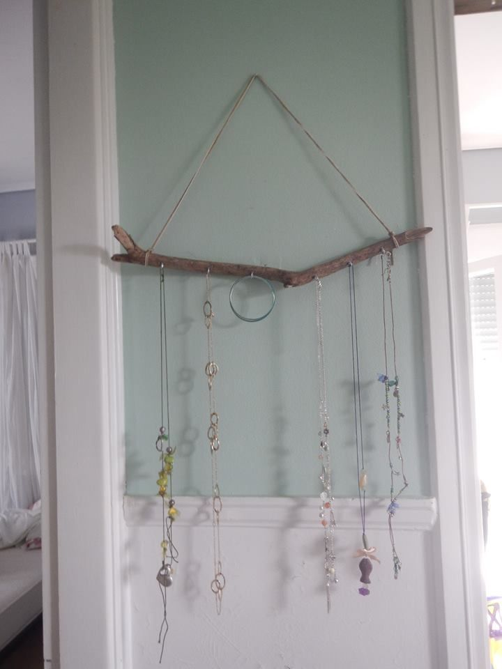 Jewelery Holder made out of Greek driftwood!