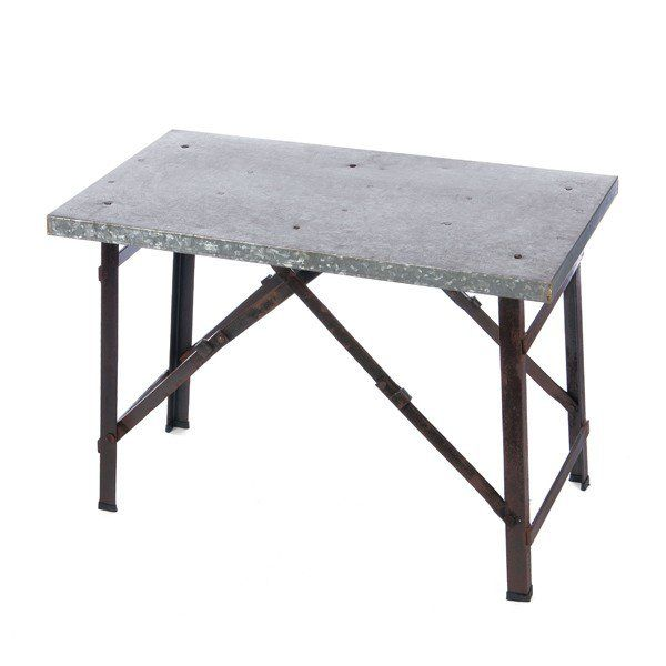 Use our Farmhouse Metal Folding Table as a side table next to your couch or bed OR use it in bathroom or kitchen as stylish storage! For more tables please visit Decor Steals