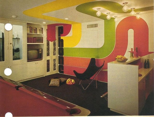 7 Basement Ideas On A Budget Chic Convenience For The Home: 17 Best Images About That 70's Basement On Pinterest