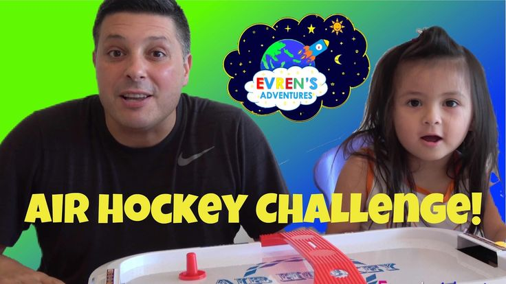 AIR HOCKEY Family Board Game Fun Night Challenge Mini Game Kids Toys Review Evren Adventures. Thanks for joining Evren's family in this fun game Air hockey challenge between Evren and her Daddy. Evren's Daddy unboxing the surprise Air hockey Toy Game for kids and family. We had lots of fun playing a family fun night challenge with our air hockey game. Great kids video who loves challenges and family board games.