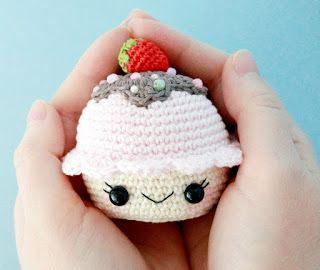 Ami-Domi Terra: amigurumi maglia: Cupcake amigurumi