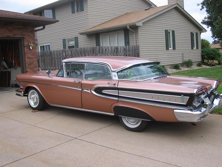 66 best images about classic cars edsel on pinterest. Black Bedroom Furniture Sets. Home Design Ideas