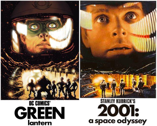 O Lanterna Verde precisa desvendar o mistério do monolito de '2001'