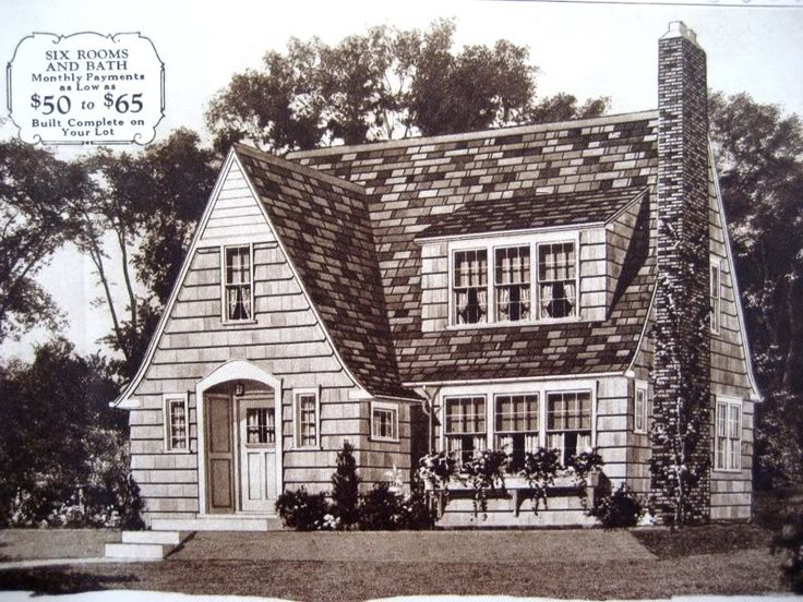 The sears lynnhaven was one of sears most popular kit for Kit west homes