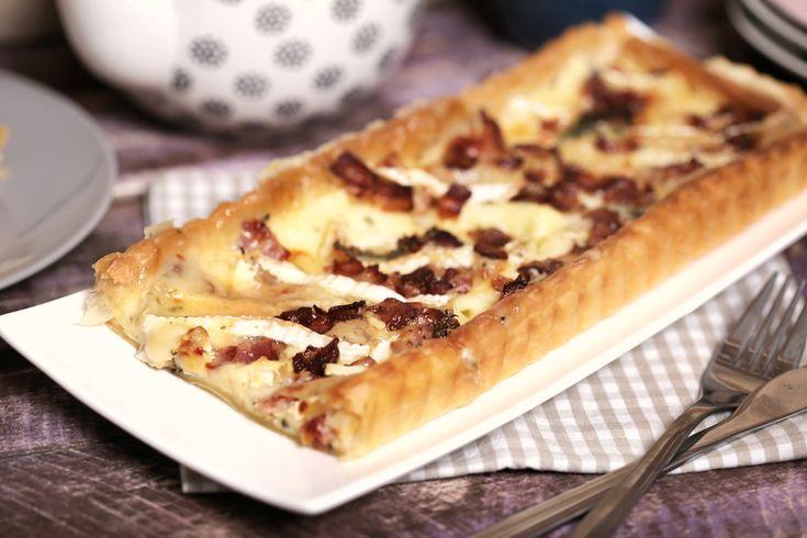 Baconos-camembert sajtos pite • Fördős Zé Magazin