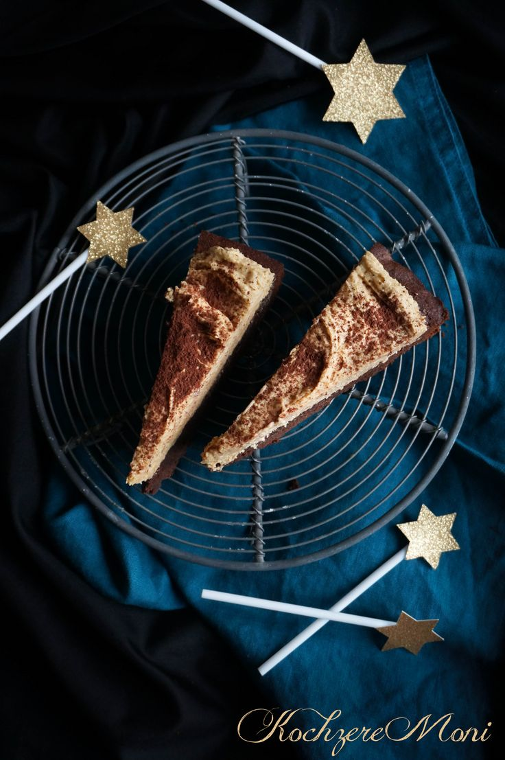Brownie mit Erdnussbuttercreme Frosting