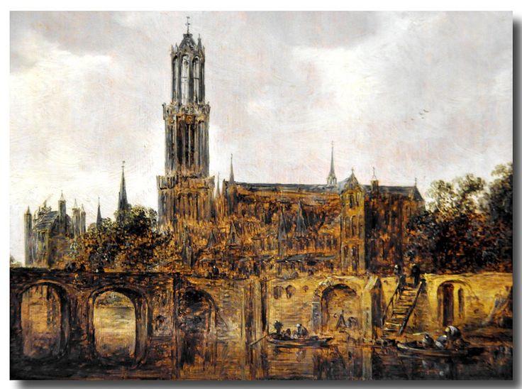 Jan van Goyen, The Cathedral of Utrecht