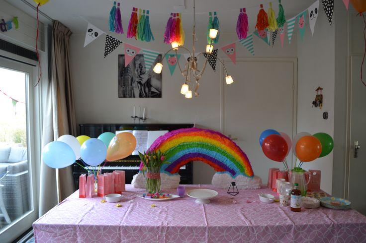 Piñata arcoiris, Rainbow, Regenboog
