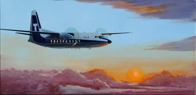 Trans Australian Airlines Fokker F 27-100