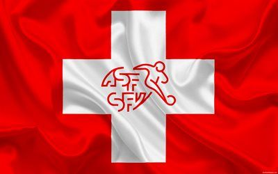 Switzerland national football team, emblem, logo, football federation, flag, Europe, Switzerland flag, football, World Cup