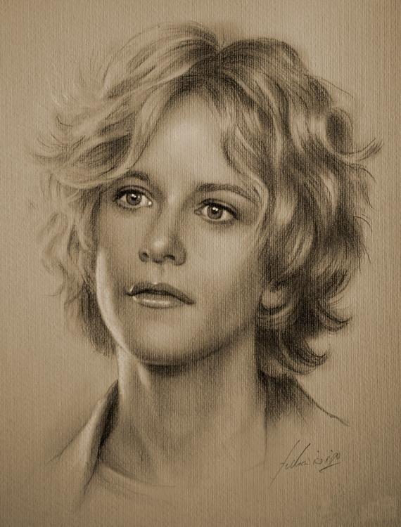 Portrait au crayon 11