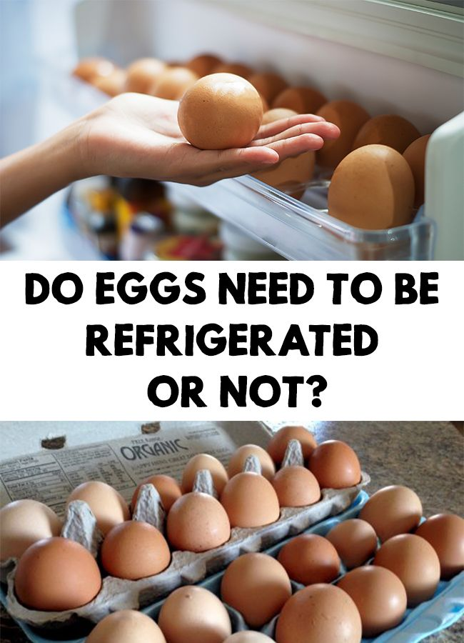 A big number of people buy eggs and store them in the fridge....or not. So... Do Eggs Need To Be Refrigerated Or Not?