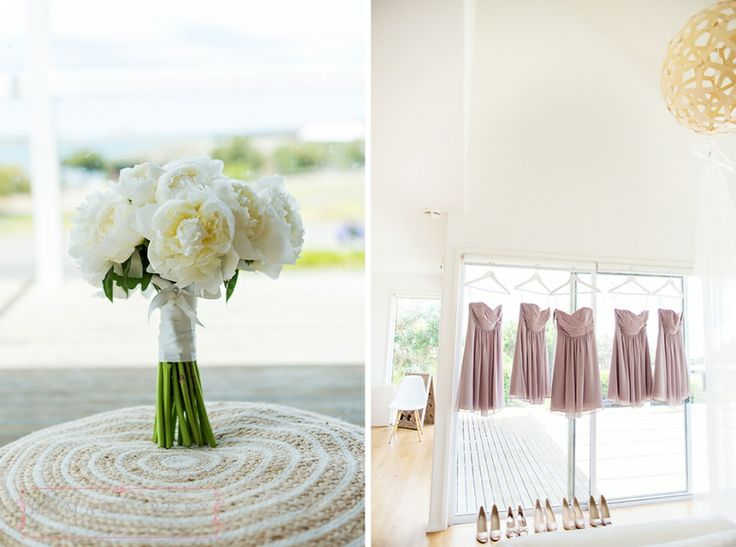 Some of the most amazing wedding flowers I have ever seen. This bouquet was created by Fleurieu Flowers and was made from huge white peonies! It was just beautiful. Wedding Photography by Emma Sharkey Photography, photographed at Kingsbrook Estate. A really pretty winery wedding in Australia.  http://www.emmasharkey.com/blog/kate-todd-married-kingsbrook-estate/