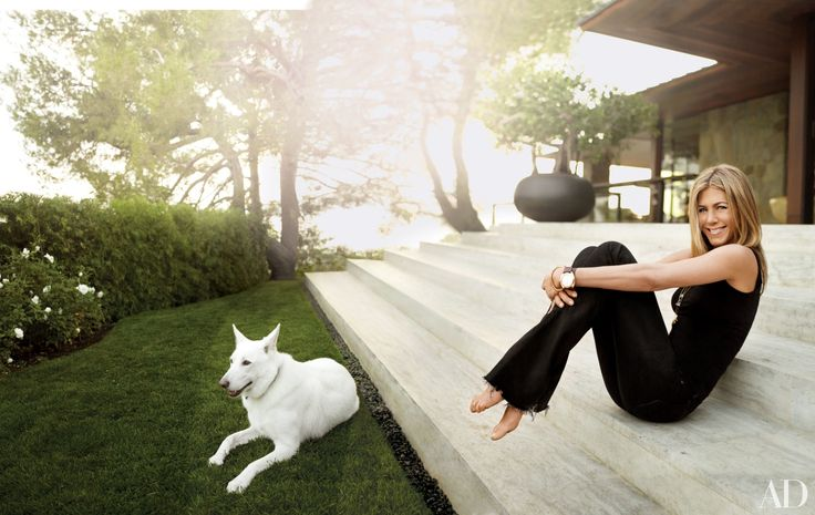 Jennifer Aniston, this year's World's Most Beautiful Woman, takes us on a tour of her Beverly Hills house, which was decorated by Stephen Shadley. | archdigest.com