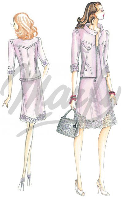 Model 2537 | Sewing Pattern Dress