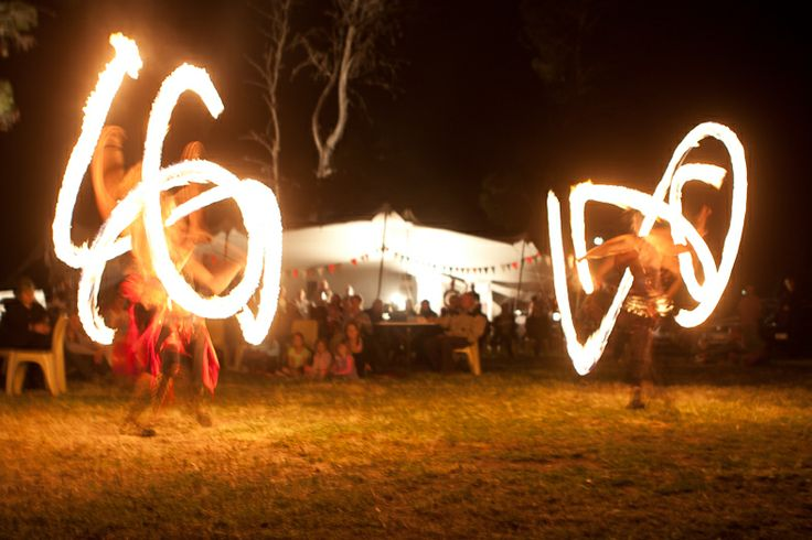 The fire dancers! Need we say more... #LocalEntertainment