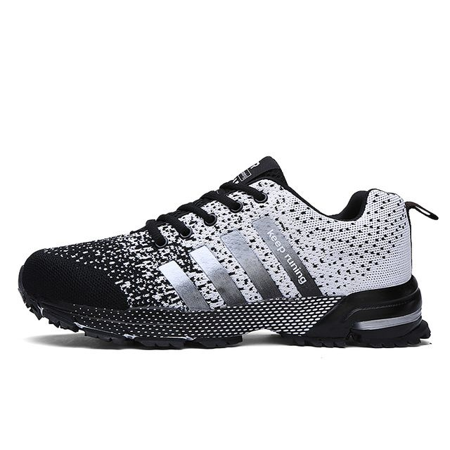 Retro Gradient Camera Lover Men Athletic Sports Shoes Breathable Casual Walking Shoes