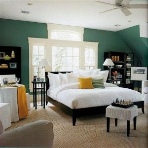 or put the bed in front of the window to eliminate the need for black out curtains???