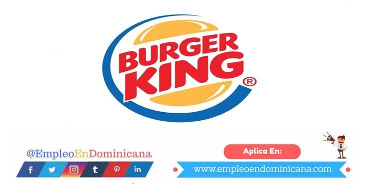 Vacante de Empleo en Burgerking Dominicana