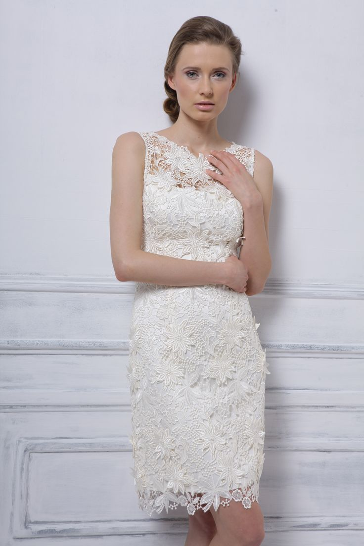 Model 1209. Przepiękna suknia ślubna wykonana z gipiury 3D. suknieslubne.com.pl
