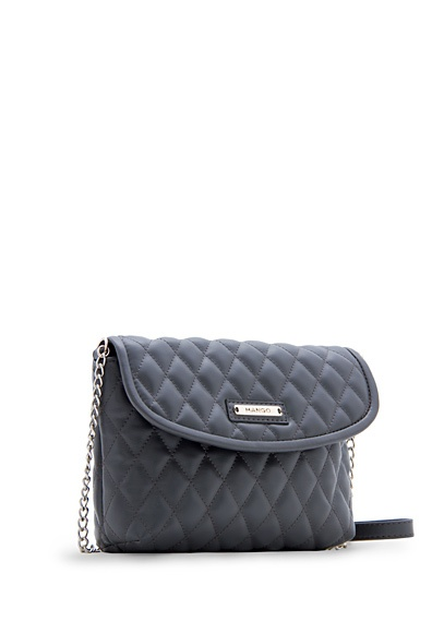 Quilted shoulder bag