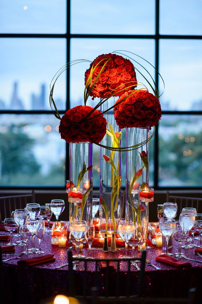 Best red centerpieces ideas on pinterest diy