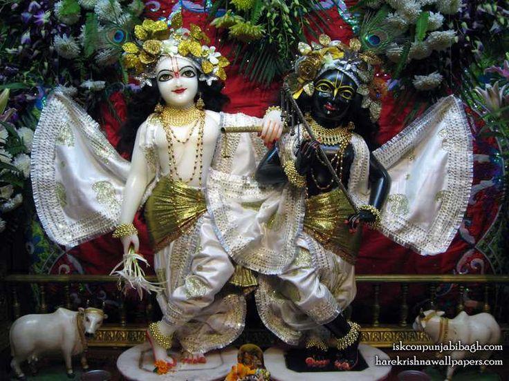 Sri Sri Krishna Balaram Wallpaper  http://harekrishnawallpapers.com/sri-sri-krishna-balaram-iskcon-punjabi-bagh-wallpaper-001/