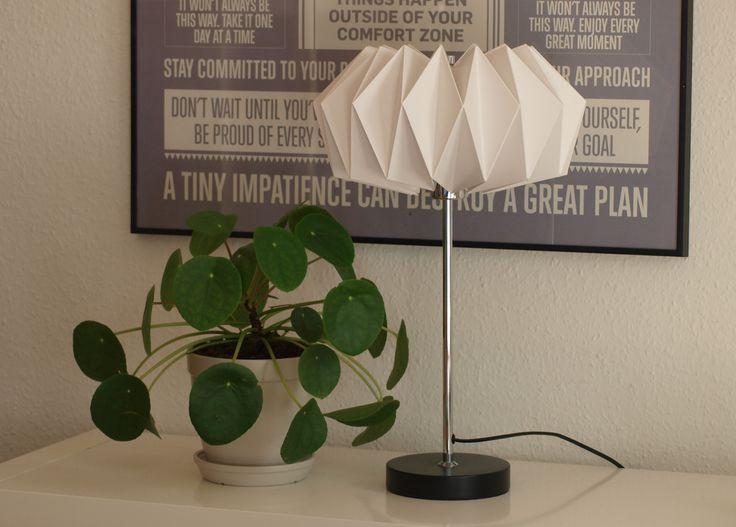 Fold selv lampeskærm Origami lampshade www.cicitive.dk