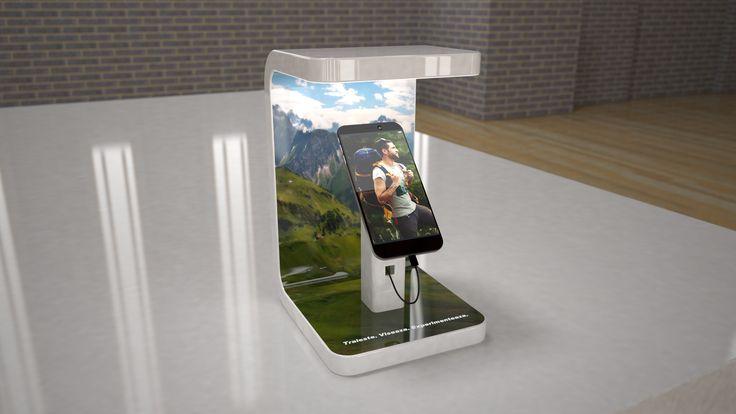 Tip proiect: Simulare 3D Client:Confidential Timp executie: 2ore Detalii: design si simulare 3D a unui glorifier pentru telefoane mobile.